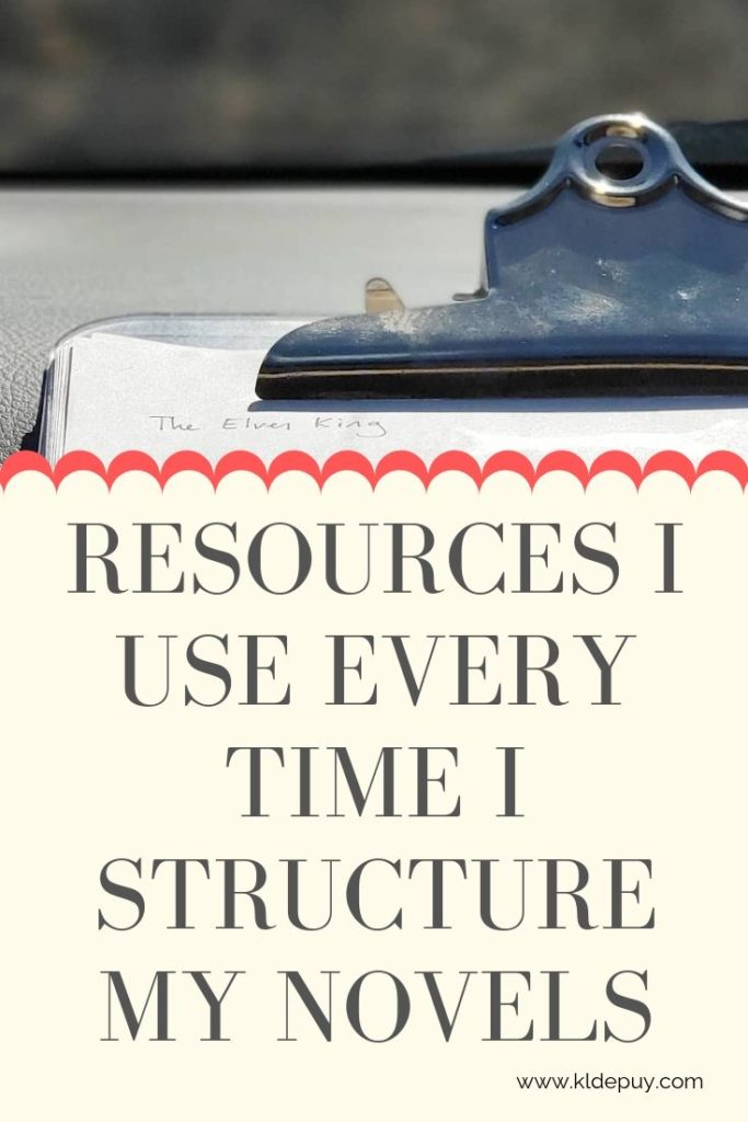 Resources I use EVERY TIME I structure MY Novels